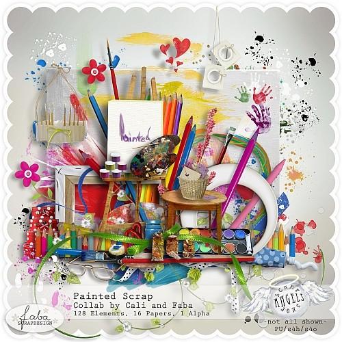 цифровой скрапбукинг, для фотографий, скрап набор, PSD шаблоны, клипарт, школа, карандаши, мелки, рукоделки василисы