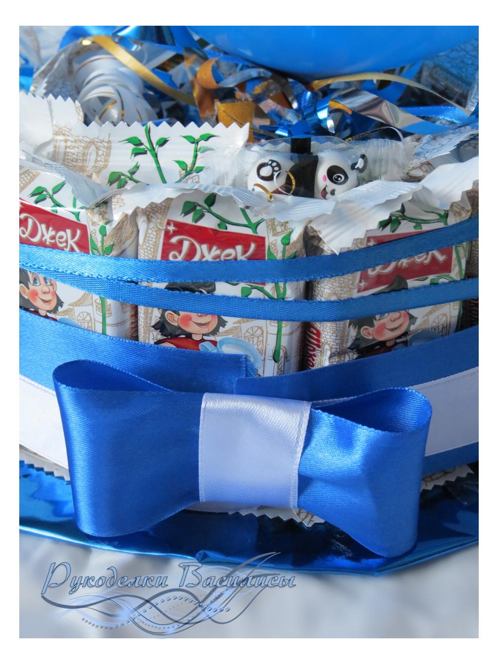 торт из конфет, угощение в детский сад, свит-дизайн, для детей, оформление сладостей, своими руками, рукоделки василисы